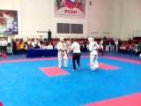 Открытый чемпионат РНФКК (ИКО-1) среди ветеранов. Хаид Мантаев 1-й бой
