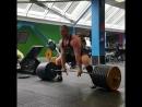 Сергей Дараган, тяга 370 кг на 4 раза