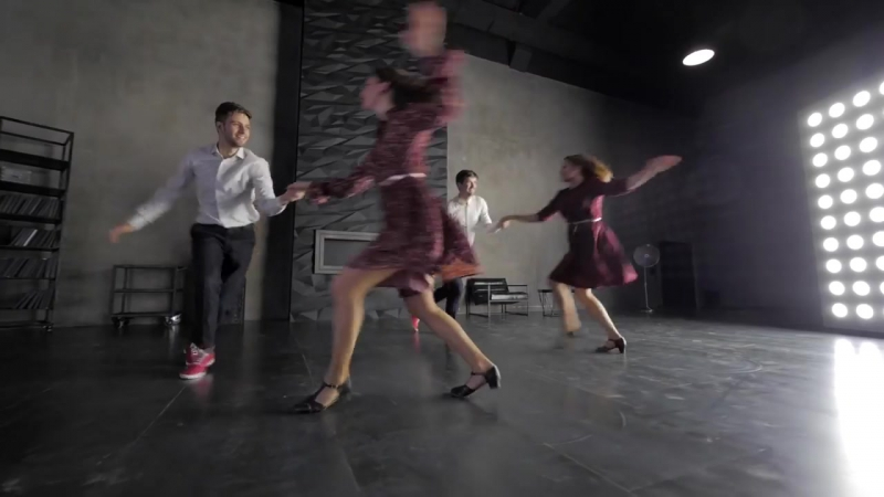 Lindy Hop Dance