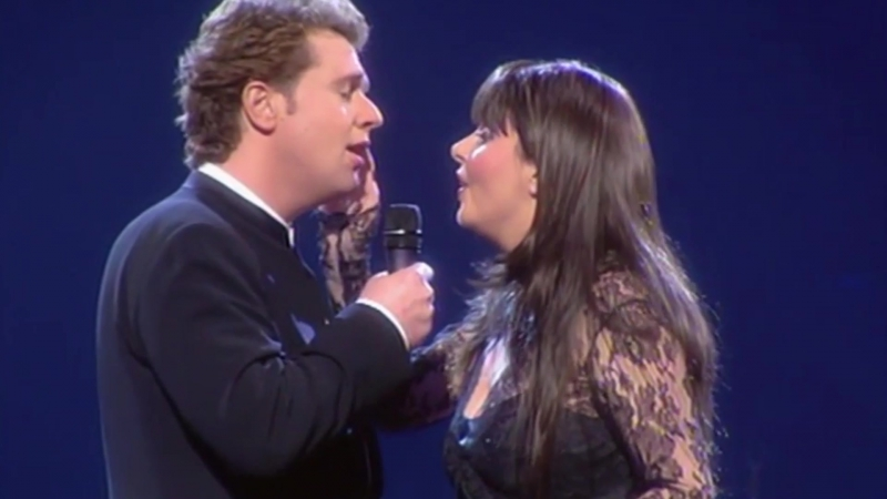 Michael Crawford and Sarah Brightman -
