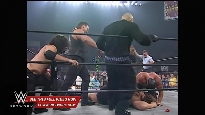 WWE Network_ Sting takes out the NWO– WCW Monday Nitro, Sept. 29, 1997