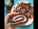 Шоколадный Рулет с Низкокалорийныйм Джемом Mr. Djemius ZERO