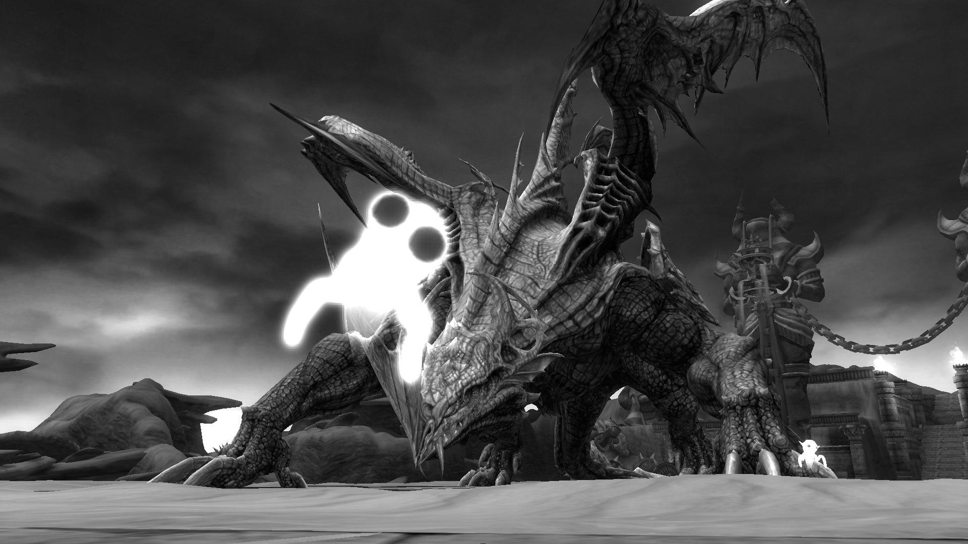 Драконы - серьёзные противники, даже если ты всего лишь в мемории