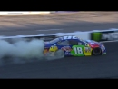 Kyle Busch burnout at New Hampshire Motor Speedway