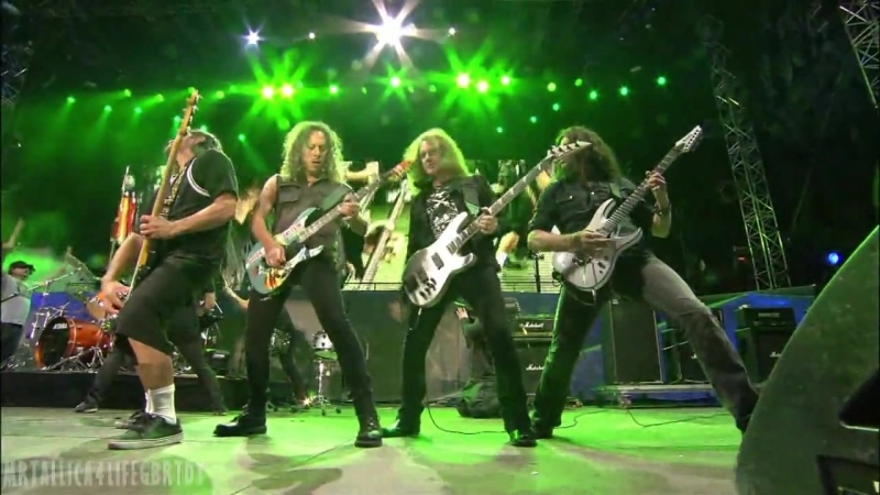THE BIG FOUR (Anthrax, Megadeth, Metallica, Slayer) - Am I Evil (Live at Sonicsphere Feslival 2010, Sofia)
