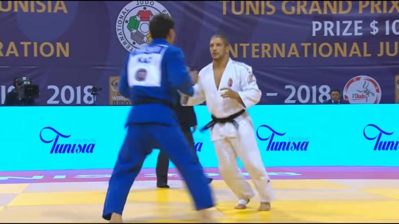 Tunis Grand Prix 2018 Final-90 kg BOZBAYEV I KAZ-TOTH K HUN