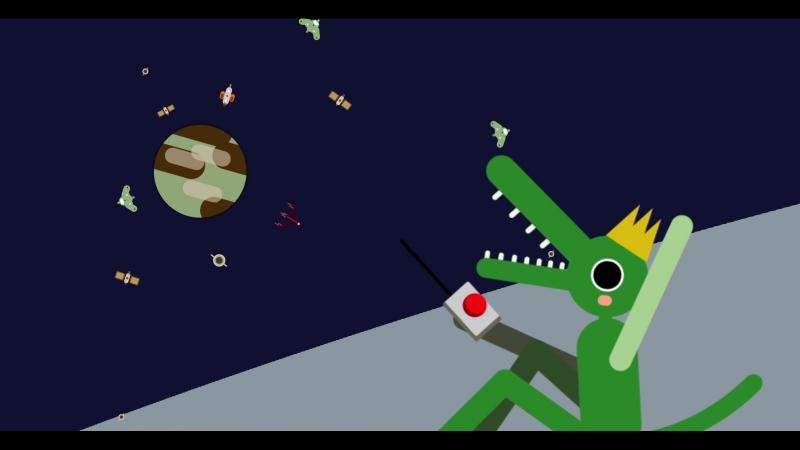 это сумасшедший крокодил ольгерд