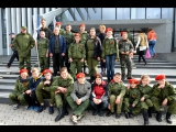 Молодая Гвардия Донбасса на праздничном концерте в честь празднования 3 годовщины формирования воинской части города! г. Горловк