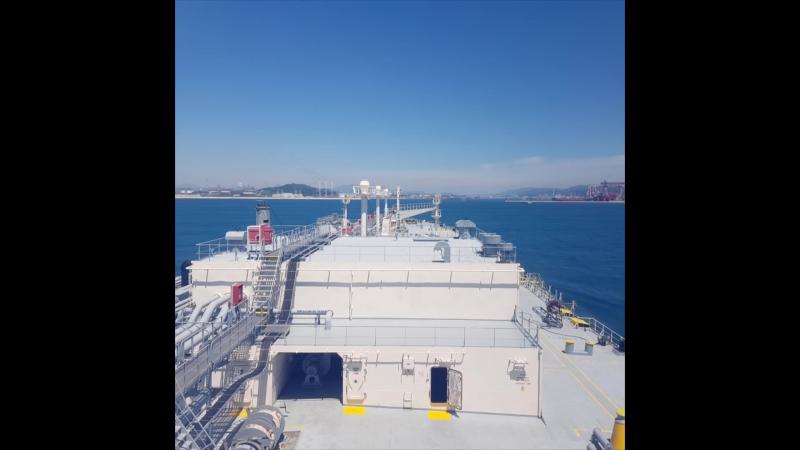 Approaching Ulsan