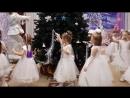утренник Елка 2017 танец снежинок