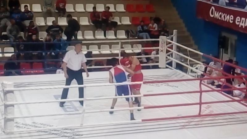 29.11.2017. г.Омск. 14 Всероссийские соревнования по боксу класса «А» имени заслуженного мастера сп