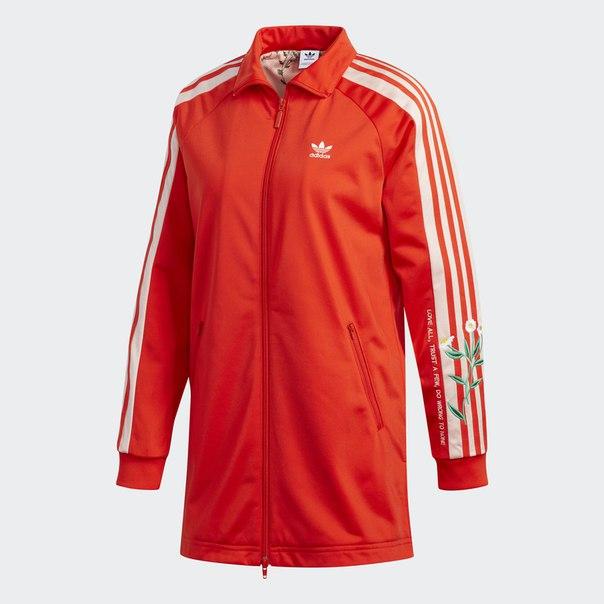 Удлиненная олимпийка Fashion