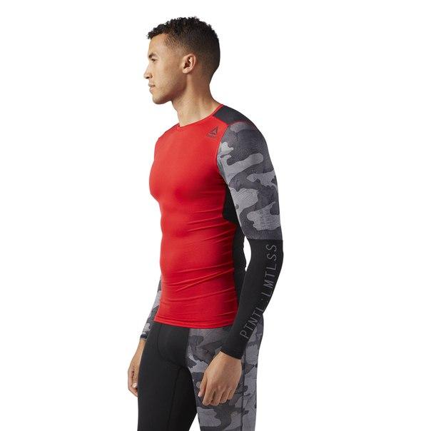 Компрессионная футболка с длинным рукавом ACTIVCHILL Graphic