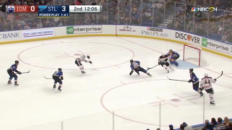 Сент-Луис Блюз 8 : 3 Эдмонтон Ойлерз. Обзор(Хоккей.НХЛ 22.11.2017)