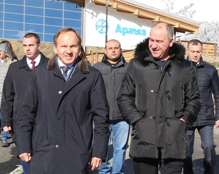 Зеленчукский район посетил министр РФ по делам Северного Кавказа