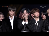 171115 Получение награды Rookie of the Year Award @ 2017 Asia Artist Awards