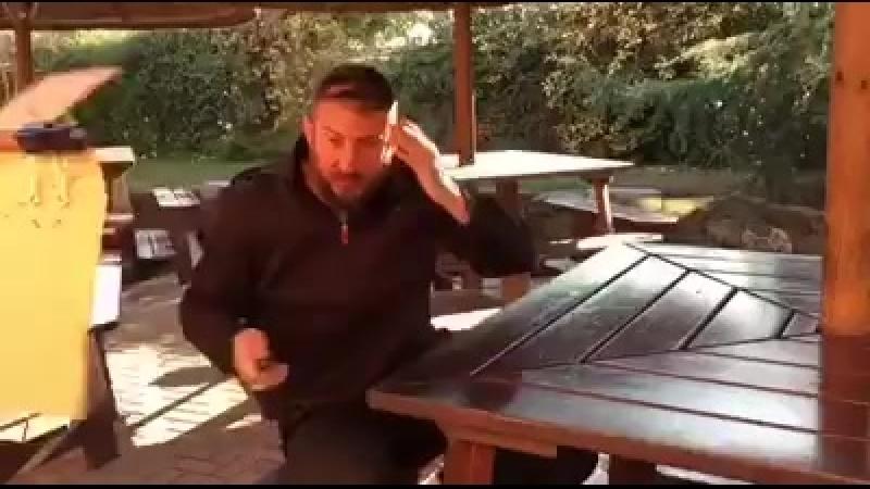 Danilo Rossi Работа с официантом