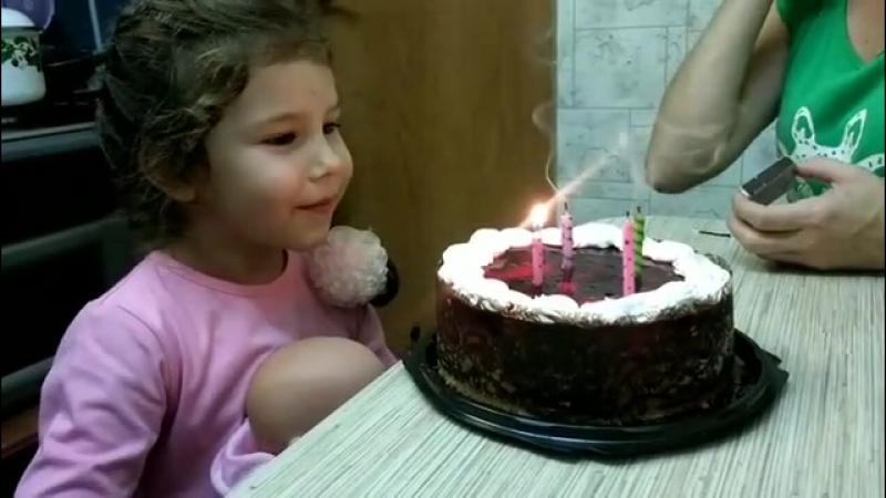 А моей мартышка 4 года, совсем большая стала семь... Купить свечи в Казани 12.09.2017