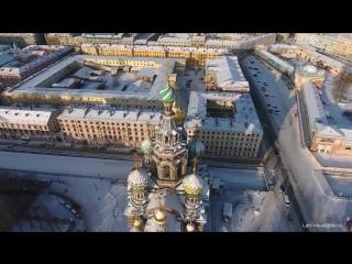 Зимний Санкт-Петербург (аэросъемка)