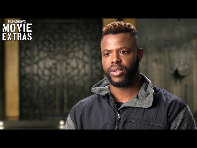 Black Panther | On-set visit with Winston Duke