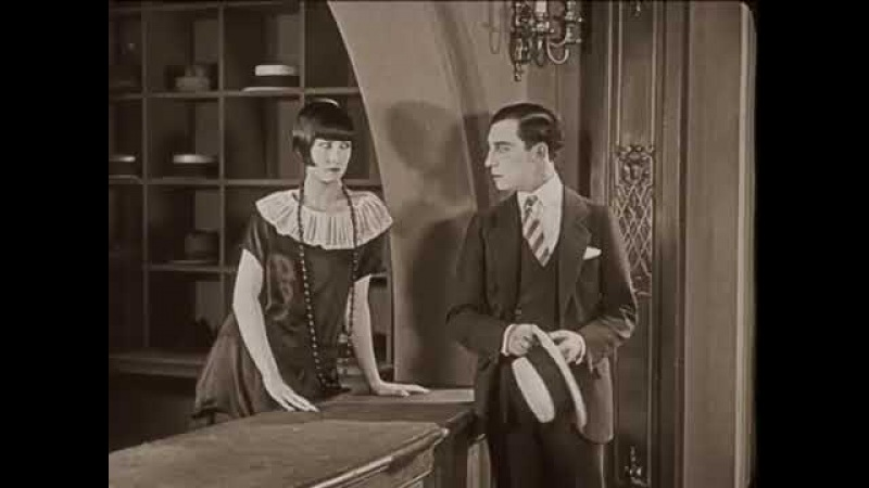 Buster Keaton gets rejected by a hatcheck girl without a word being spoken in Seven Chances 1925