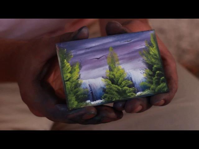 Мини картина пальцами за две минуты Винница
