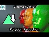 Cinema 4D R19 Polygon Reduction