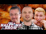 Machine Gun Kelly Returns to Hot Ones and Dead Cross Makes Wings on the PBR Halftime Show