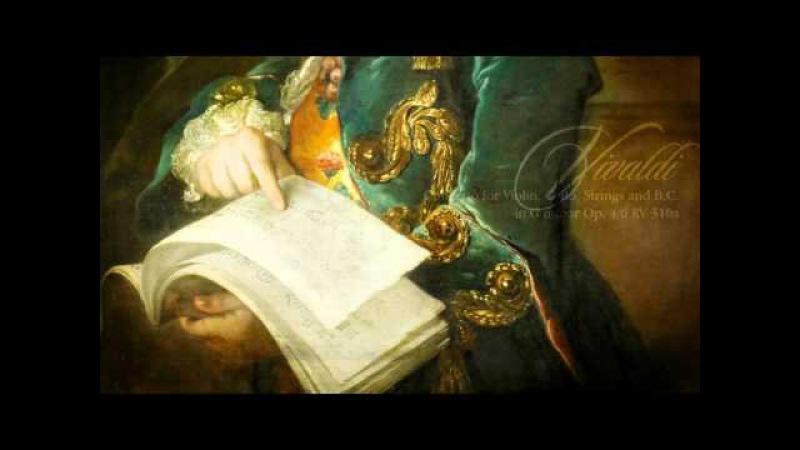 A. VIVALDI: La Stravaganza Concerto in G minor Op.4/6 RV 316a, Concerto Italiano