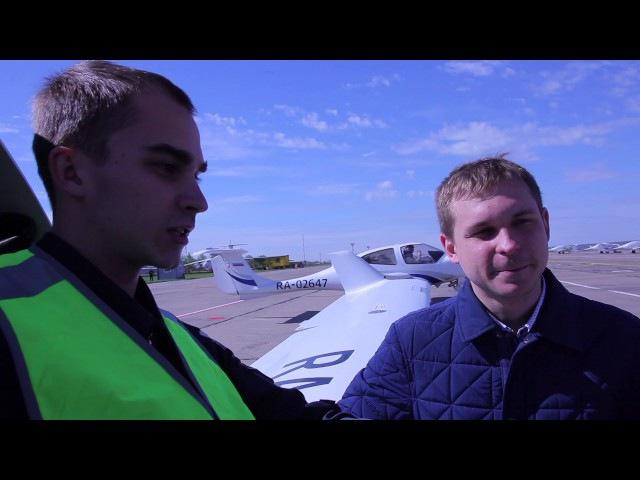 аэродром, полеты курсантов, мнение о самолетах в училище.