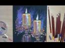 Новогодний этюд от Елены Горбушиной