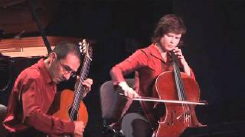 Radamés Gnattali: Sonate pour violoncelle et guitare / Ensemble ALMAVIVA