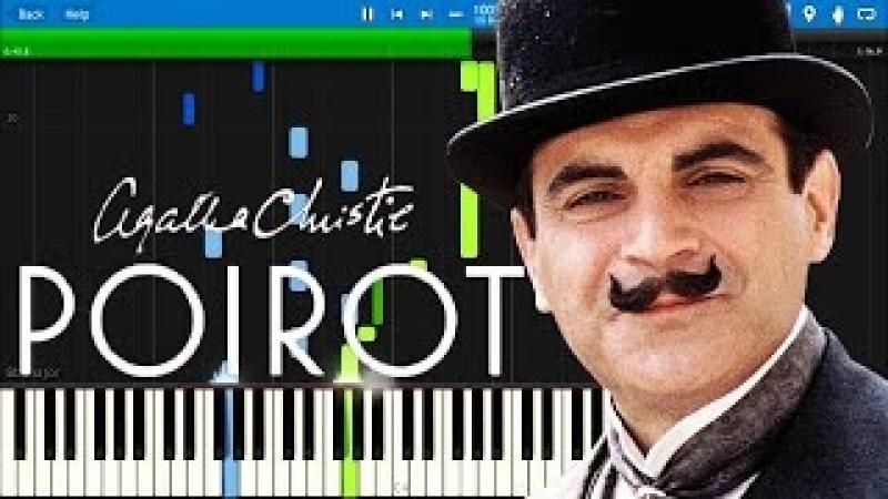Poirot Theme | Synthesia Piano Tutorial