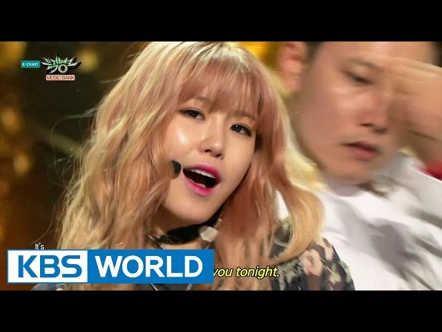 Jun HyoSeong - Into You | 전효성 - 반해 [Music Bank HOT Stage 2015.05.22]