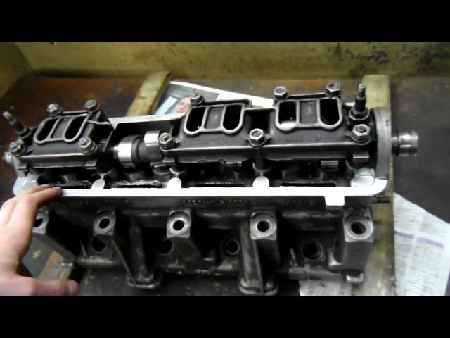 2.0 ТДВС: ГБЦ- 2108; вал- SR35; цельные толкатели; доработка; пружины- Prosport.