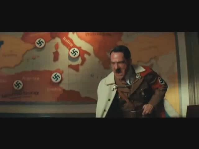 Hitler vs Brad Pitt (nein vs. yes)