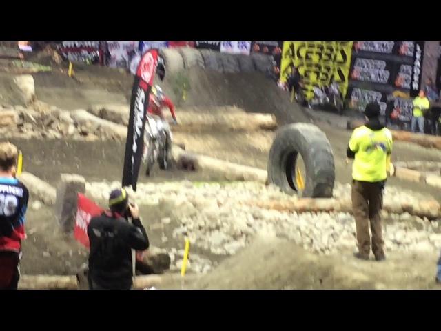 Everett Endurocross: Colton Haaker Hot Lap