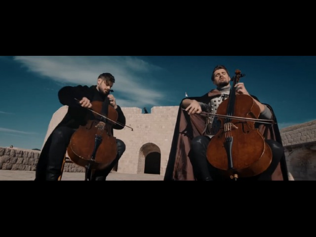 2CELLOS Luka Sulic and Stjepan Hauser Game of Thrones Игра Престолов OFFICIAL VIDEO
