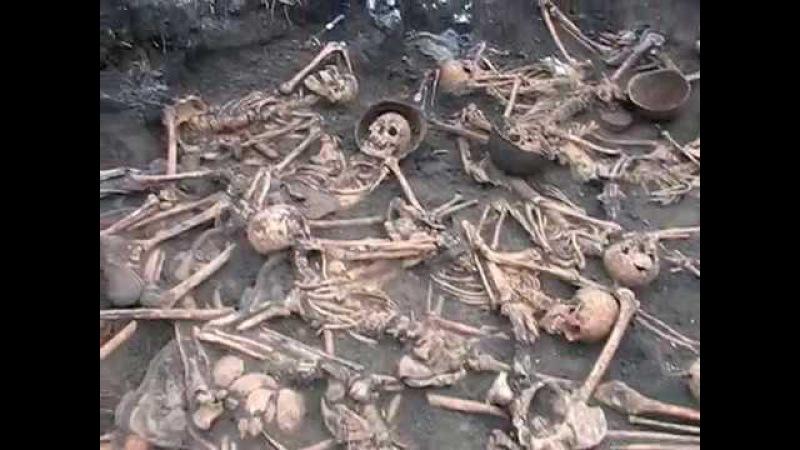 Братская могила советских солдат найденная Плацдармом в декабре 2017