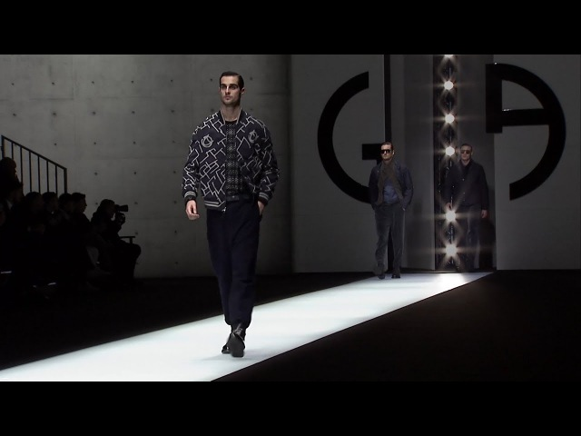 Giorgio Armani Fall Winter 2018-19 Men's Fashion Show