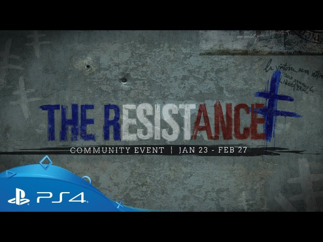 Call of Duty: WWII   The Resistance Event Trailer   PS4