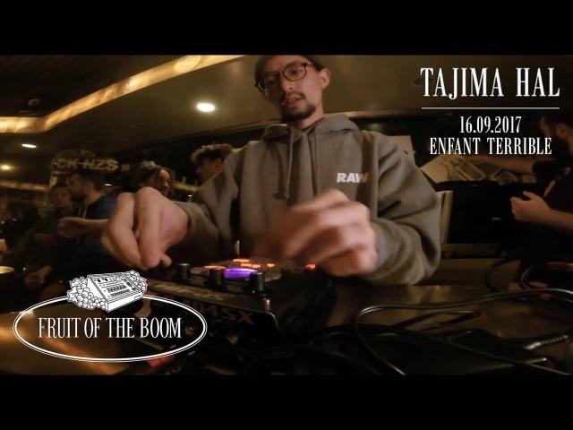 Tajima Hal – Fruit of the Boom Live Beat Set (September 16th 2017)