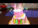 Кривой двухъярусный торт / Crooked two-tier cake - Я - ТОРТодел!