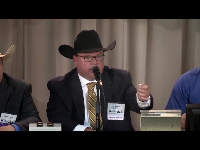 2016 World Livestock Auctioneer Championship Finals Part 1