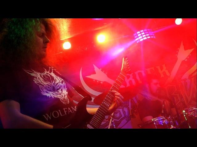 Wolfanger Servants Of Death Live at Barvy club Kiev 03 02 2018