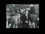 MARIO LANZA on the set of