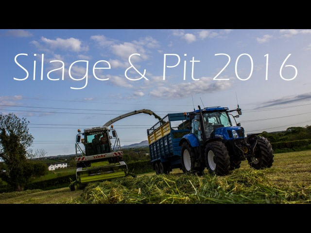 Silage and Pit 2016 - Maxwell Contracts - 4K