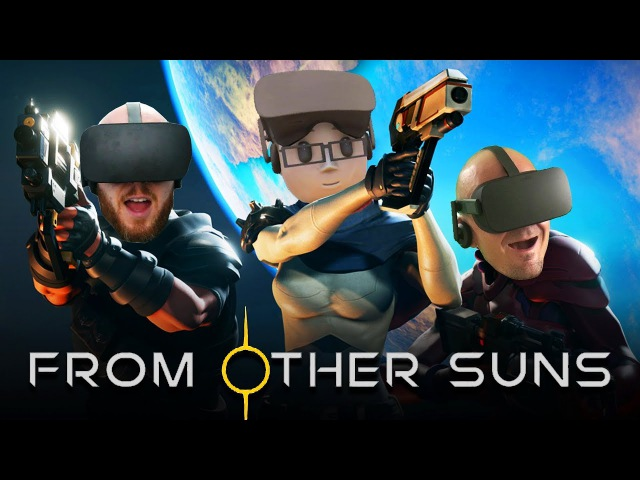 WE ARE THE SPACE MONKEYS! | From Other Suns VR Multiplayer Co-Op Oculus Rift Gameplay