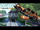 Beamng Drive Movie Epic Chase Leads To Multiple Crashes Sound Effects PART 8 S01E08
