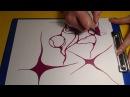 Нейрографика - Как правильно округлять пересечения линий и углы в нейрографике
